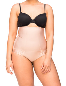 Nancy Ganz Body Architect Hi-Waist Brief, Nude product photo