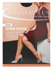 Kayser Plus Sheer Cover Tight Ink Navy product photo