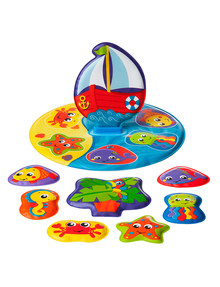 Playgro Floaty Boat Bath Puzzle product photo