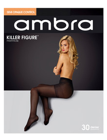 Ambra Killer Figure 30D Semi Opaque Control - Black product photo