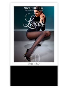 Levante Soft Opaque Tight 40D 2pp, Nero (Black) product photo