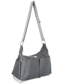 Ryco Nappy Bag Tote, Grey product photo
