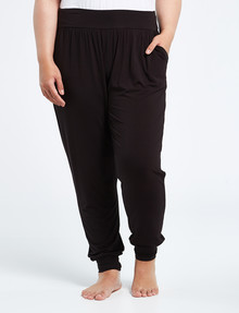 Bodycode Curve Full-Length Jogger, Black product photo