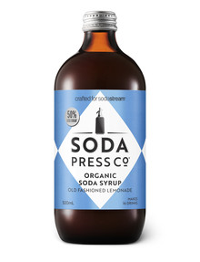 Soda Press Organic Soda Syrup, Old Fashioned Lemonade product photo