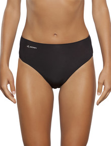 Jockey Woman NPLP Tactel Hi-Cut Brief, Black product photo