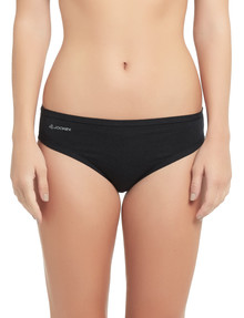 Jockey Woman Comfort Classic Bikini Brief 2-Pack Black product photo