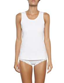 Jockey Woman Comfort Classic Basics Singlet White product photo