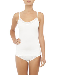 Jockey Woman Parisienne Classic Cami, White product photo