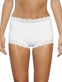 Jockey Woman Parisienne Classic Full Brief, White product photo