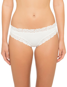 Jockey Woman Parisienne Classic Cheeky Brief White product photo