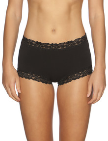Jockey Woman Parisienne Cotton Full Brief, Black product photo
