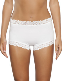 Jockey Woman Parisienne Cotton Full Brief White product photo