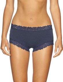 Jockey Woman Parisienne Cotton Boyleg Brief, Ink Blue product photo