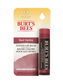 Burts Bees Tinted Lip Balm, Red Dahlia product photo