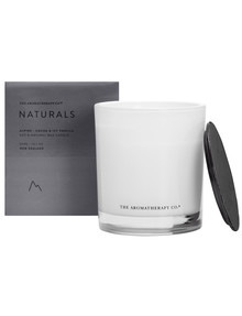 The Aromatherapy Co. Naturals Cocoa & Icy Vanilla Candle, 370g product photo
