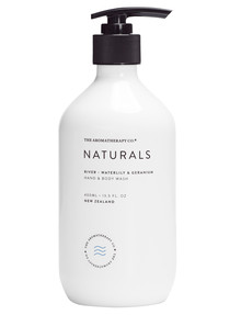 The Aromatherapy Co. Waterlily & Geranium Hand & Body Wash, 400ml product photo