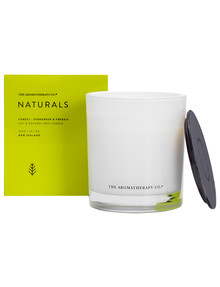 The Aromatherapy Co. Naturals Evergreen & Freesia Candle, 370g product photo