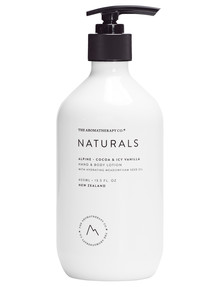 The Aromatherapy Co. Cocoa & Icy Vanilla Hand & Body Lotion, 400ml product photo