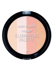 wet n wild MegaGlo Illuminating Palette, Catwalk Pink product photo