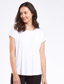 Bodycode Boxy Tee, White product photo