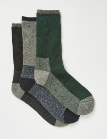 Outdoor Collection Standout Cushioned Work Sock, 3-Pack product photo