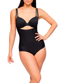 Nancy Ganz Body Architect Underbust Bodysuit, Black product photo