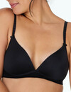 Bendon Wireless Bra, Black, A-D product photo
