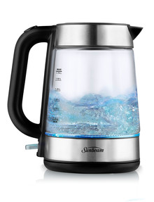 Sunbeam Capri Glass 1.7L Kettle, KE6100 product photo