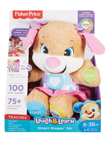 Fisher Price Laugh & Learn Smart Stages Puppy Sister product photo