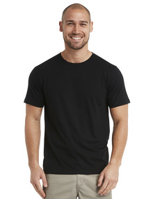 Chisel Ultimate Crew Tee, Black product photo
