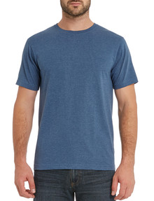 Chisel Ultimate Crew Tee, Blue Marle product photo