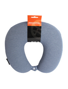 Voyager Smartpac Memory Foam Travel Pillow, Stripes product photo
