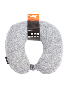 Voyager Smartpac Memory Foam Travel Pillow, Grey product photo