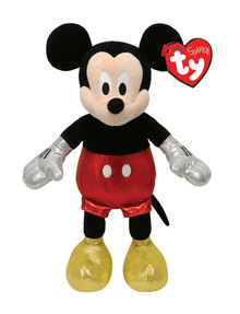 Ty Beanies Mickey & Minnie Plush, Assorted product photo