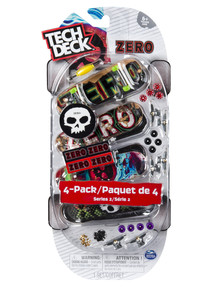 Tech Deck Four Deck Multipack - Assorted product photo