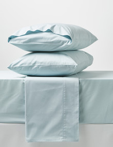 Linen House 250 Thread Count Sheet Set, Duck Egg product photo
