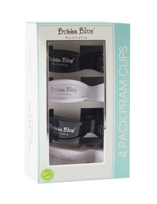 Bubba Blue Pram Clips, 4-pack product photo