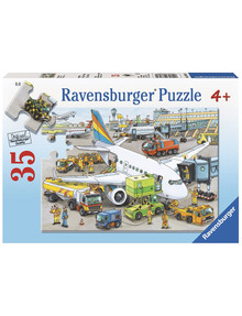 Ravensburger Puzzles Busy Airport, 35Pc product photo