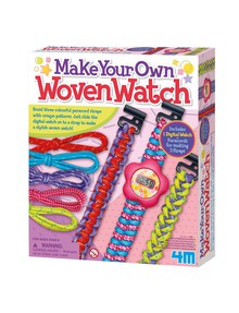 4M Make Your Own Woven Watch product photo