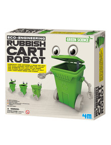4M Rubbish Cart Robot product photo
