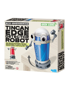 4M Tin Can Edge Detector Robot product photo