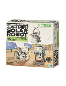 4M 3 In 1 Mini Solar Robot product photo