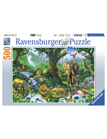 Ravensburger Puzzles Harmony In The Jungle Puzzle 500Pc product photo