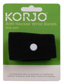 Korjo Anti-Nausea Bands, 2-pack product photo