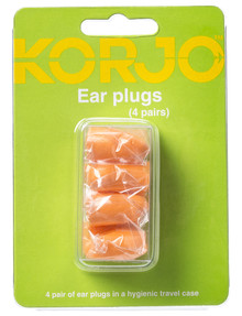 Korjo Ear Plugs, 4 Pairs product photo