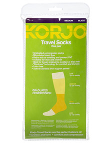Korjo Travel Socks, Medium product photo