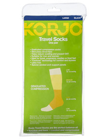 Korjo Travel Socks, Large product photo