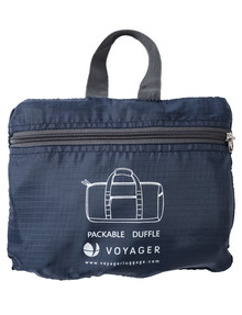 Voyager Foldaway Duffel, Navy product photo