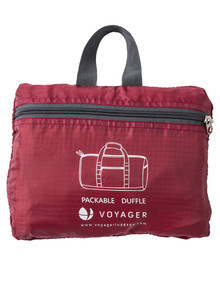 Voyager Foldaway Duffel, Red product photo