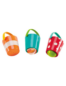 Hape Happy Buckets 3-Piece Set product photo